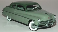 1949 Mercury Club Coupe in green in 1:24 scale by Danbury Mint