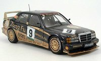 1991 MB 190 EVO II - GP Cacau  Ludwig #9 in 1:18 Scale by Solido
