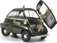 BMW Isetta Exp. POLICE in 1:18 Scale by Schuco