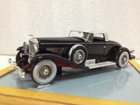 1931 Duesenberg J Murphy 'Whittell' Coupe Model Car in 1:43 Scale by Ilario