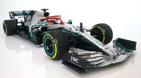Mercedes Benz AMG Petronas 2019 Monaco GP Winner Lewis Hamilton in 1:18 scale by Minichamps