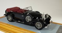 1934 Mercedes-Benz 500K Tourenwagen Resin Model Car in 1:43 Scale by Ilario