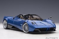 Pagani Huayra Roadster, Blu Tricolore Carbon Fiber in 1:18 scale by AUTOart