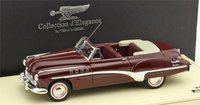 1949 Buick  Roadmaster Convertible Royal Maroon Model Car in 1:43 Scale by Truescale Miniatures