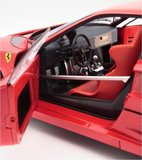 FERRARI F-40 COMPETIZIONE in RED Diecast Model Car in 1:12 Scale by Kyosho