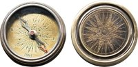 Antique Pocket Compass by Authentic Models