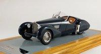 1938 Bugatti T57SC Roadster Corsica  Resin Model Car in 1:43 Scale by Ilario
