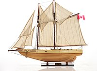 Bluenose II Fully assembled L60 Sailboat by Old Modern Handicrafts