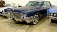 1969 Cadillac Fleetwood 60 Special Brougham Dark Blue in 1:43 Scale by GLM