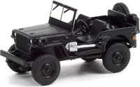 1942 Willys MB Jeep in 1:64 scale by Greenlight