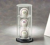3 Baseball/Hockey Puck Display Case: Round by NCaseIt