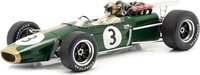 Brabham BT24 #3  Winner French GP 1967 in 1:18 Scale by Spark