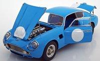 1961 Aston Martin DB4 GT Zagato Racing Version blue by CMC in 1:18 Scale