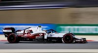 ALFA ROMEO RACING ORLEN C41 ANTONIO GIOVINAZZI BAHRAIN GP 2021 in 1:18 scale by Minichamps
