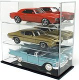 3 Diecast Car Display Case - Mirror Back for 1:18 scale models