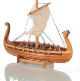 Drakkar Viking Ship 6 inches by Old Modern Handicrafts
