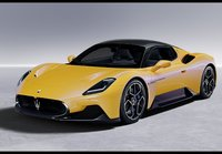 2020 Maserati MC20 Giallo Genio in 1:18 Scale by BBR