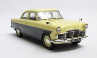 1957 Ford Zodiac 206E Yellow & Brown in 1:18 Scale by Cult Models