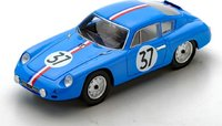 Porsche 356B Abarth Le Mans 1961 in 1:43 Scale by Spark