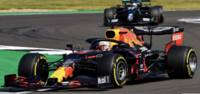 Aston Martin Red Bull Racing RB16 No.33 Winner 70th Anniversary GP 2020 Max Verstappen in 1:18 scale by Spark
