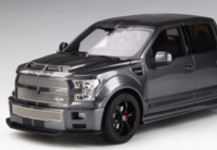 Shelby F150 Super Snake Metallic Grey in 1:18 Scale by GT Spirit