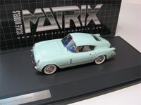 1954 Chevrolet Corvair Concept Coupe in 1:43 Scale by Matrix