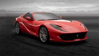 2020 Ferrari 812 GTS High End Resin Model in Red in 1:18 scale by MR Collection