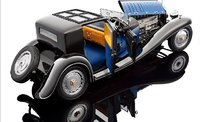1930 Bugatti Royale Coupe de Ville by Bauer in 1:18 Scale