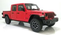 2019 Jeep Gladiator Rubicon Firecracker Red in 1:18 Scale by GT Spirit