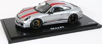 2016 Porsche 911 R European Dealer Edition w Display Cover Model Car in 1:18 Scale by Spark