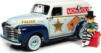 Monopoly 1948 Chevrolet Panel Delivery Van in 1:18 scale by Auto World