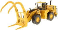 Cat® 988K Wheel Loader with grapple in 1:50 scale by Diecast Masters