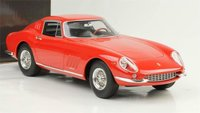 1965 Ferrari 275 GTB Red Model Car in 1:18 Scale by CMR