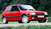 1991 Peugeot 205 GTI 1.9 in 1:8 Scale by GT Spirit