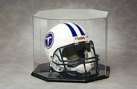 Octagon Football Helmet Display Case by NCaseIt