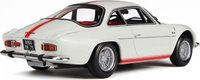 1968 Alpine A110 1600S Olympique in White/Red Resin Model Car in 1:18 Scale by Otto Mobile
