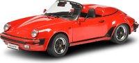 1989 Porsche 911 Speedster red in 1:12 scale by Schuco