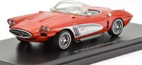 1959 Chevrolet Corvette XP 700 Concept in Red in 1:43 Scale by Neo