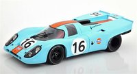 Porsche 917K Gulf Winner 1000km Zeltweg 1971 in 1:18 scale by CMR