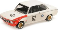 BMW 2002 62 Winner Guards International Brands Hatch 1969 in 1:18 Scale by Minichamps