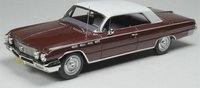 1962 Buick Electra Burgundy in 1:43 scale by Goldvarg Collection