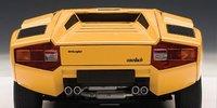 Lamborghini Countach LP400S in Yellow Diecast Model Car in 1:18 Scale by AUTOart