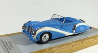 1948 Talbot-Lago T26 grand Sport Cabriolet Saoutchik sn110110 Resin Model Car in 1:43 Scale by Ilario