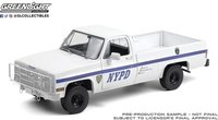 1984 Chevrolet CUCV M1008 - New York City Police Department (NYPD) IN 1:18 scale by Greenlight