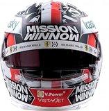 Charles Leclerc Helmet F1 2021 Scuderia Ferrari in 1:2 scale by BBR