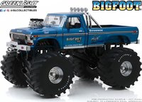 Bigfoot #1 Monster Truck with 66 Inch Tires Diecast in 1:18 Scale by Greenlight