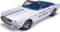 1964-1/2 FORD MUSTANG 289 INDY 500 PACE CAR DIECAST MODEL in 1:18 scale by Auto World