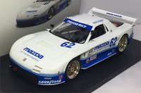 2015 Mazda RX-7 GTO IMSA #62 Mazdaspeed Resin Model Car in 1:18 Scale by Truescale Miniatures