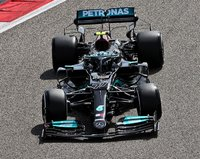 Mercedes-AMG Petronas 3rd Italian GP 2021 Valtteri Bottas in 1:43 scale by Spark