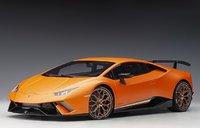 Lamborghini Huracan Performante Arancio Anthaeus/Matt Orange in 1:12 Scale by AUTOart